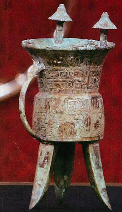 今から3400年くらい前の殷王朝の青銅器で、世界的なお宝だそうだ。