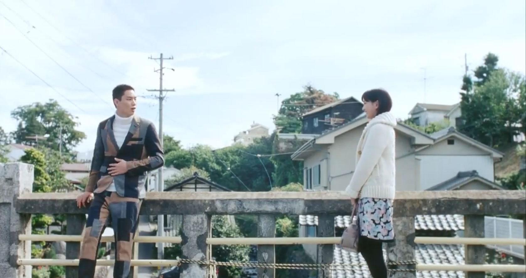 彼氏の問題のスーツ。 鈴木伸之さんはかっこよく着こなしているが…