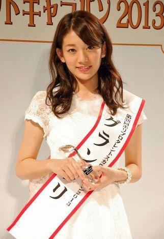 さとう・みき 1993年6月26日生まれ、栃木県出身。身長166センチ、体重48kg。2万216名の応募者から「ホリプロタレントスカウトキャラバン2013」グランプリに決定。「non-no」専属モデルにも決定した。
