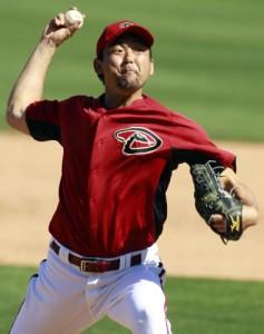 ダイヤモンドバックスで活躍中の斎藤隆投手