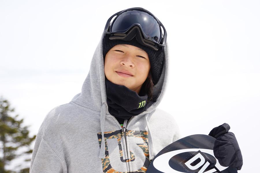 平野歩夢は日本選手団最年少の若干15歳、中学3年生だ。超絶技で頂点を狙う。