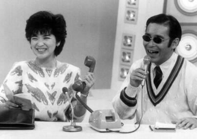 初回ゲストはタモリが当時熱心だった桜田淳子だ。 (c)フジテレビ
