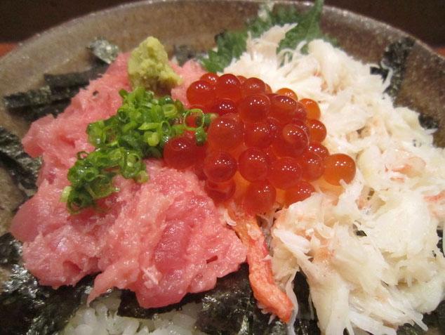 ずわい蟹海鮮丼