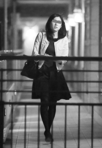 FRIDAY誌に掲載された西島さんの結婚相手Mさんの写真。 引用元:FRIDAYデジタル http://friday.kodansha.ne.jp/archives/12301/