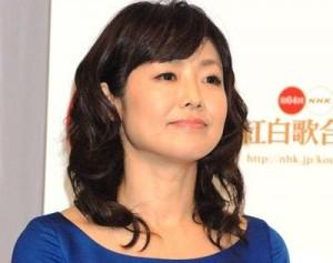 NHK有働由美子アナ。NHKのベテランアナウンサーだ。