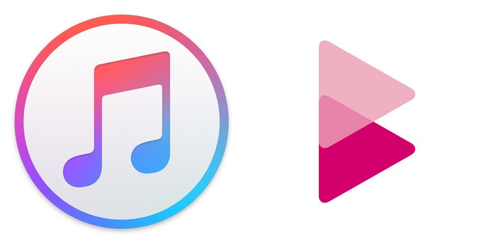 Apple MusicとレコチョクBestロゴ