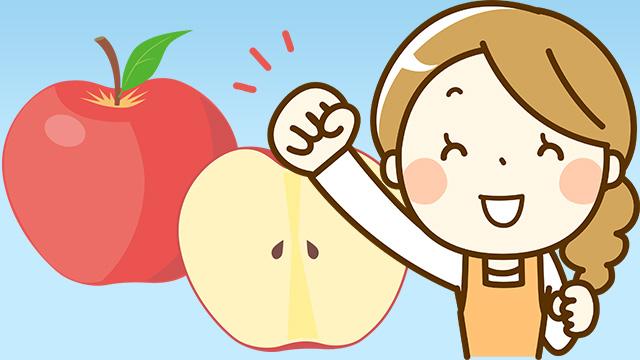 りんごポリフェノールの力