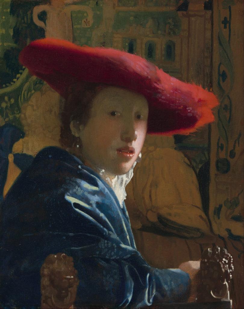 赤い帽子の娘