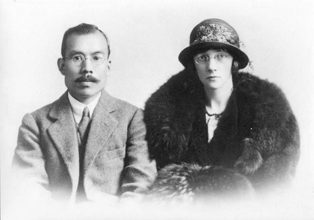 竹鶴政孝さんとリタさん