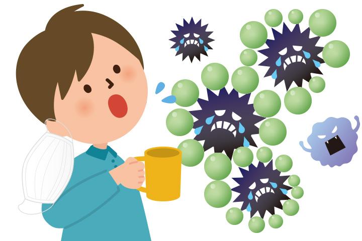 インフルエンザ2015年の予防に緑茶カテキンが効く!